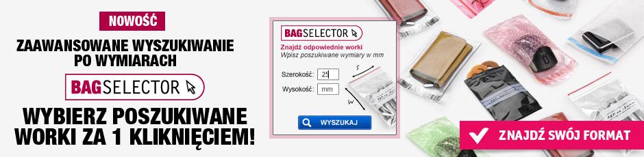 Wybierz poszukiwane worki za 1 kliknięciem!